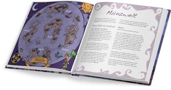 Little Wizards Antoine Bauza Rollenspiel Offenes Buch Visualisierung