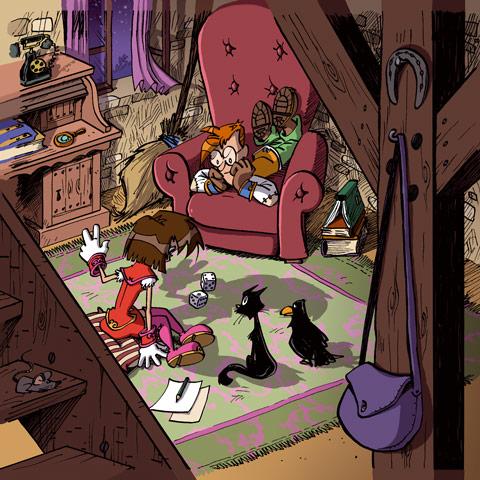 Little Wizards Charaktererstellung