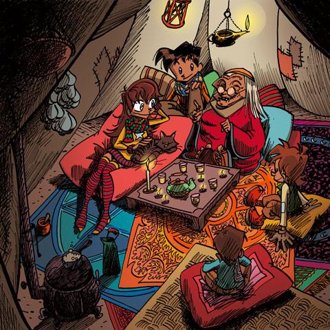 Little Wizards kooperatives Spiel fuer Kinder